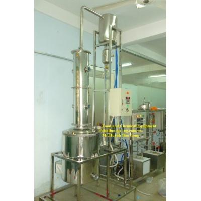 THIẾT BỊ  CHƯNG CẤT DUNG MÔI - Solvent Distillation Equipment